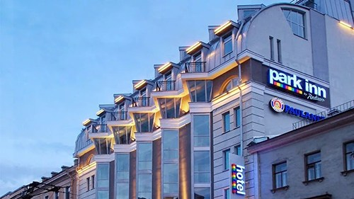 Новый год 2018 в Park Inn by Radisson Невский