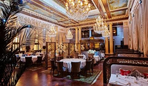 Новогоднее заседание 2019  в ресторане «Метрополь» отеля Majestic