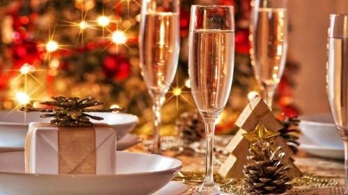 Празднование Нового года 2020 в гостинице Астория