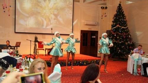 Новогоднее шоу 2020 в отеле Полюстрово