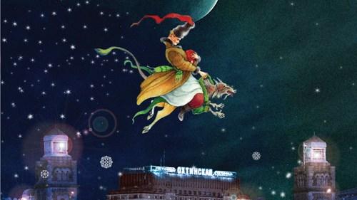 Новогодняя ночь 2020 в гостинице Охтинская